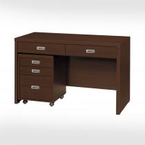 優美胡桃4尺書桌(不含活動櫃)