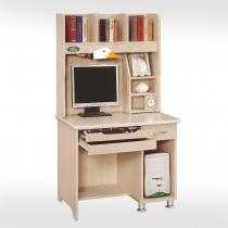 3尺白橡電腦桌全組