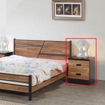 A151積層木床頭櫃 (單只)