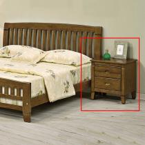 巴比倫黃檀實木床頭櫃(單只)