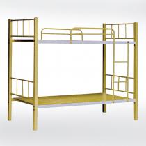 米黃色3尺雙層鐵床(50角床板型)