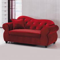 國王企鵝紅色貴妃椅(左向)