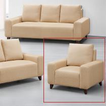 可麗雅千鳥紋單人沙發