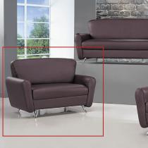 傑森達皮製雙人沙發(2016-5)(咖)
