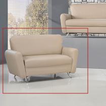 佛洛里皮製雙人沙發(2016-5)