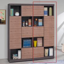 凡賽斯柚木雙色書櫃(右)(FBG208-2)