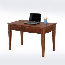 克莉絲淺胡桃實木書桌