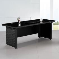 造型皮製6尺辦公主桌(JB015)