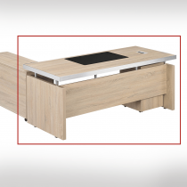 白橡色6尺辦公主桌(不含側櫃、活動櫃)