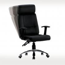 黑皮辦公椅(9220)