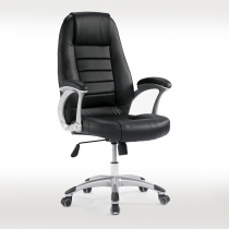 黑皮辦公椅(A55)
