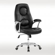 黑皮辦公椅(A50)