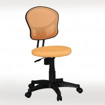 橘色網布辦公椅(坐墊PU成型泡棉)