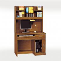 樟木實木3.2尺電腦桌組(645+641)
