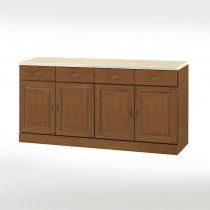 丹尼爾樟木色仿石紋面5.3尺碗盤下櫃(303A)