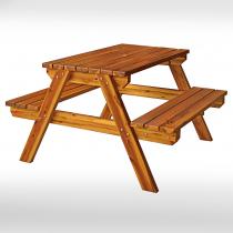 4尺實木啤酒桌椅組(TU624)