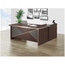 伯特5.3尺辦公桌組(含側櫃,活動櫃)