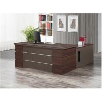 艾克6尺辦公桌組(含側櫃,活動櫃)