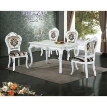 512人造石面餐桌椅(1桌4椅)