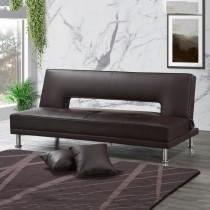 亞格黑色皮沙發床(2856)