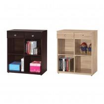 羅恩2.7尺書櫃/置物櫃(共兩色)