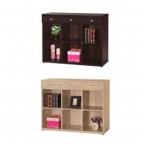 羅恩4尺書櫃/置物櫃(共兩色)