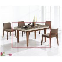 (H1502)4.6尺餐桌