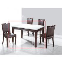 C95繡花4.5尺餐桌