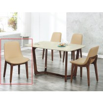 B34水曲柳實木餐椅(單只)