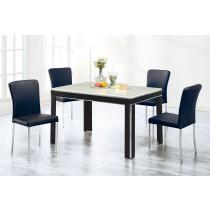 (229)4.3尺石面餐桌椅(1桌4椅)