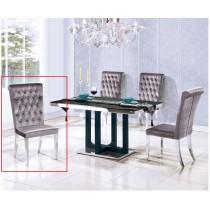 B202絨布餐椅(單只)
