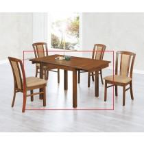 (EDT67)拉合實木長方餐桌