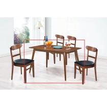 (SA56)4.3尺長方餐桌