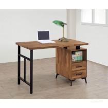 奧蘿拉集層柚木色4尺書桌