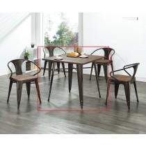 T18實木面休閒桌