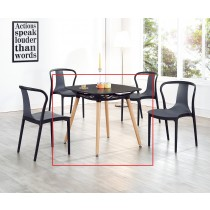 T28黑色方桌