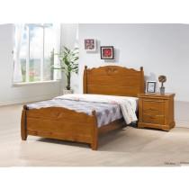 尼克3.5尺實木單人床(不含床頭櫃)