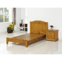 洛爾3.5尺實木單人床(不含床頭櫃)