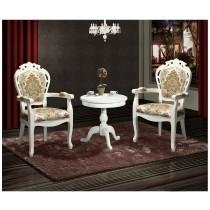 637白布面扶手椅(單只)
