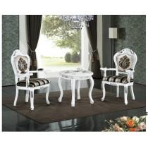 536白色圓桌