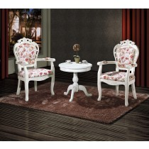 627白布面扶手椅(單只)