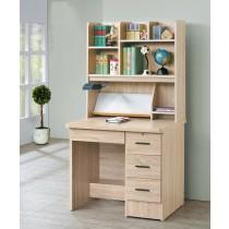 厚切橡木3尺書桌全組(木心板)