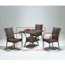 PB-4101型藤休閒桌