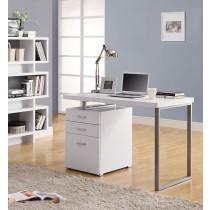 康迪仕摩登電腦書桌(白色)