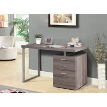 康迪仕摩登電腦書桌(褐灰色)