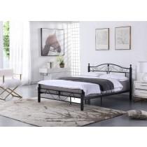 洛特5尺雙人床鐵床