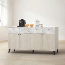 白橡色5尺餐櫃/碗盤櫃(下座)(B203)