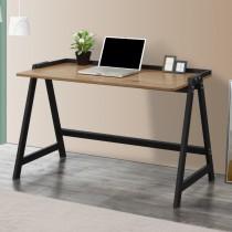 簡約4.2尺鐵框書桌/工作桌(共兩色)