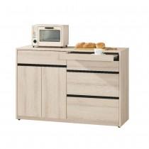 塔利斯4尺餐櫃/碗盤櫃