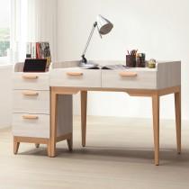 雲朵3.3尺二抽辦公書桌(112)(含三抽櫃)